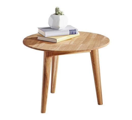 Couchtisch in Eichefarben  - Eichefarben, Design, Holz (50/35cm) - Linea Natura