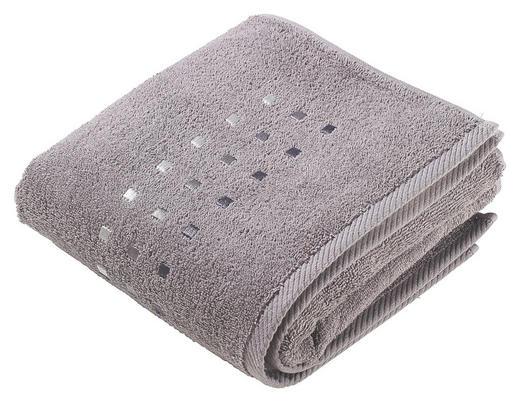 HANDDUK - antracit, Klassisk, textil (50/100cm) - ESPOSA