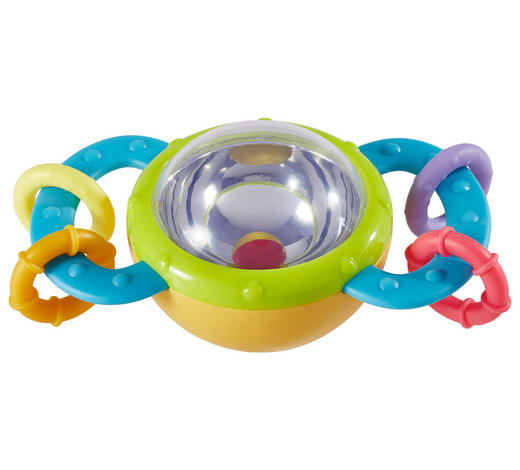 RASSEL - Multicolor, Basics, Kunststoff (11/7/5,5cm) - My Baby Lou