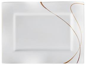 FAT, 19/25 CM - vit/brun, Design, keramik (25/19/2cm) - Ritzenhoff Breker