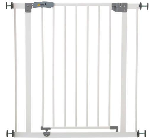 TÜRSCHUTZGITTER 75-81/77 cm - Weiß, Basics, Metall (75-81/77cm) - Hauck