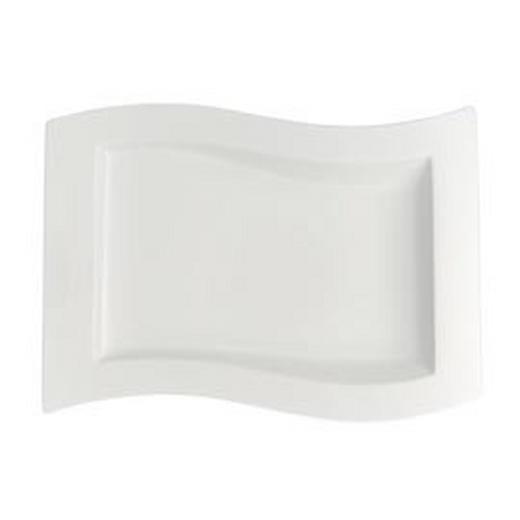 SPEISETELLER Keramik Fine China - Weiß, Basics, Keramik (33/24cm) - Villeroy & Boch