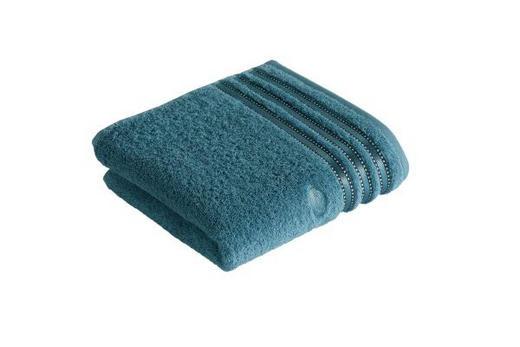 HANDTUCH 50/100 cm - Blau, KONVENTIONELL, Textil (50/100cm) - Vossen