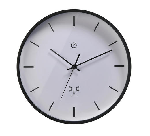 WANDUHR  Weiß 30 cm  - Weiß, Basics, Kunststoff (30cm)