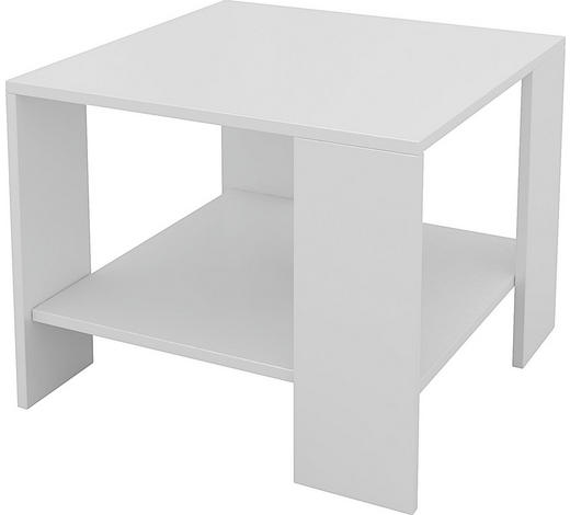 KLUB STOLIĆ - bijela, Design, drvni materijal (55/42/55cm) - Boxxx