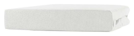 Spannleintuch Tamara - Weiß, KONVENTIONELL, Textil (90-100/200cm) - Ombra
