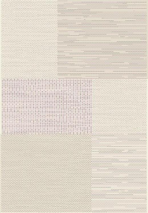 FLACHWEBETEPPICH  120/170 cm  Weiß - Weiß, KONVENTIONELL, Textil (120/170cm) - Boxxx