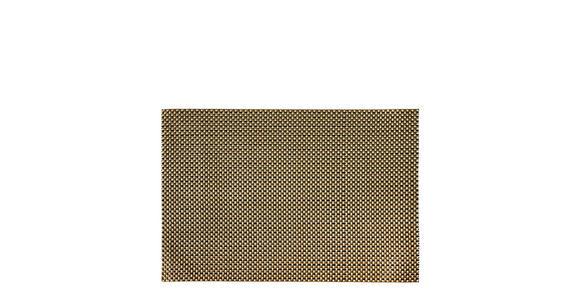 Tischset 4er Set - Taupe/Braun, Design, Textil (30/45cm) - Homeware
