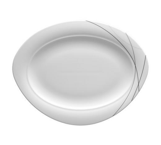 PODNOS SERVÍROVACÍ - krémová, Basics, keramika (35cm) - Seltmann Weiden