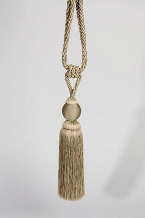 GARDINOMTAG - naturfärgad, Klassisk, textil (80cm)