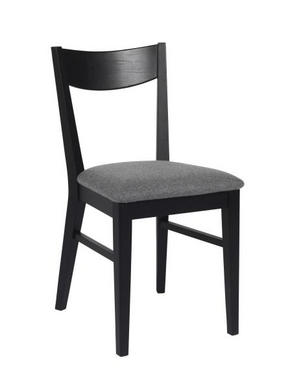 BARSTOL - ljusgrå/svart, Design, trä/textil (40/93/46cm) - Rowico