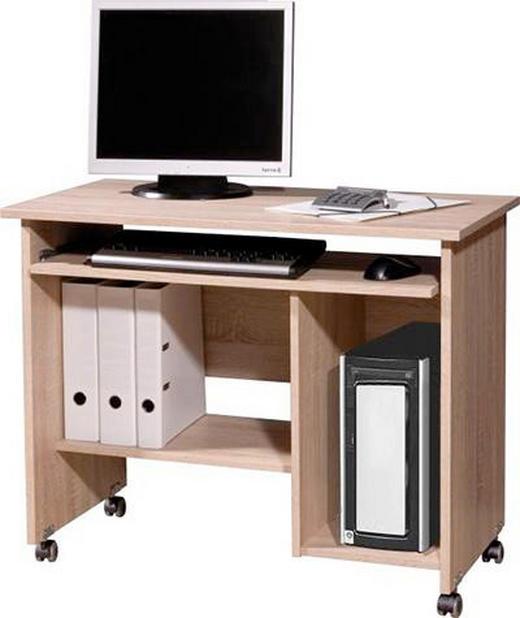 COMPUTERTISCH Sonoma Eiche - Sonoma Eiche, Design, Holz/Kunststoff (90/72/48cm) - Carryhome