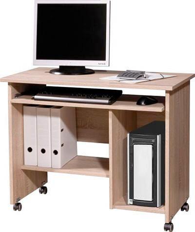 COMPUTERTISCH Sonoma Eiche   Sonoma Eiche, Design, Holz/Kunststoff (90/72