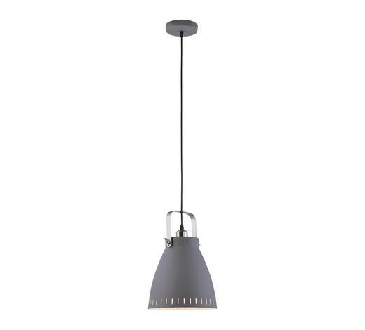 HÄNGELEUCHTE - Grau, Design, Metall (26,5/26,5/120cm) - Boxxx