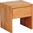 NACHTKÄSTCHEN in massiv Buche Buchefarben - Buchefarben, Design, Holz (39/39/35cm) - Carryhome