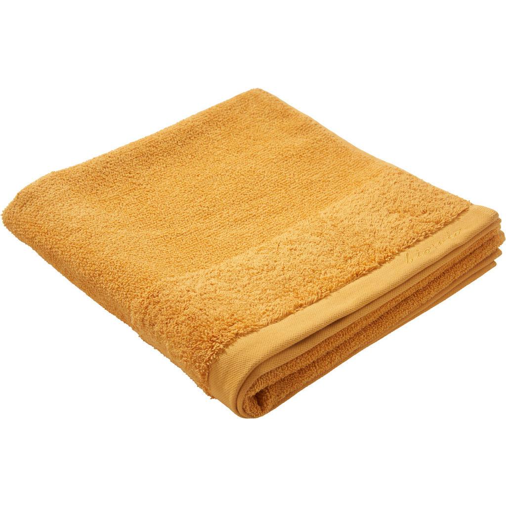 Image of Bio:Vio Duschtuch 70/140 cm , Bonita , Dunkelgelb , Textil , Uni , 70 cm , Frottee , saugfähig, hochwertige Qualität, schadstoffgeprüft , 004417004204