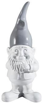 DEKOZWERG - Weiß/Grau, Basics, Kunststoff (19/40/15cm)