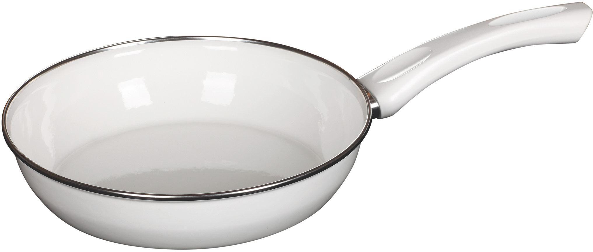 Ceraglaspfanne 24 cm 24 cm - Weiß, Metall (24cm) - RIESS