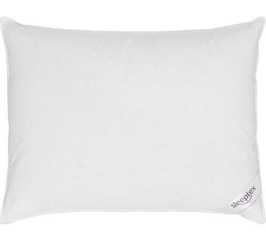 3-KAMMER-POLSTER 70/90 cm - Weiß, Basics, Textil (70/90cm) - Sleeptex