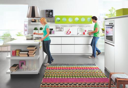 EINBAUKÜCHE - Weiß, Design - NOVEL