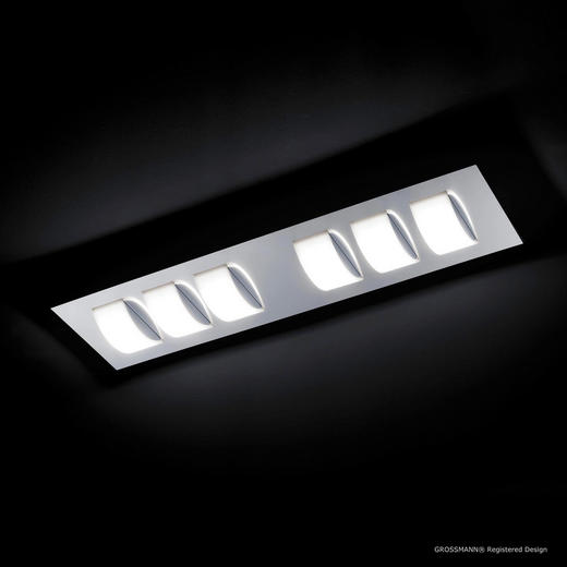 LED-DECKENLEUCHTE - LIFESTYLE, Metall (88/23/7,7cm)