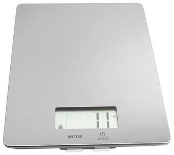 ELEKTRICKÁ KUCHYŇSKÁ VÁHA - barvy nerez oceli, Basics, kov (23/17/2cm) - Homeware