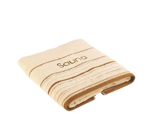 SAUNATUCH - Beige, KONVENTIONELL, Textil (70/200cm) - Esposa