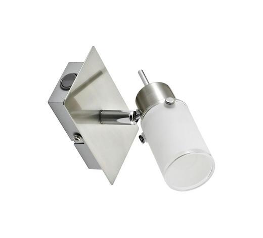 LED-STRAHLER - Weiß, KONVENTIONELL, Glas/Metall (15/16,5/15cm) - Novel