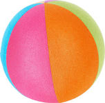 SPIELBALL - Multicolor, Basics, Kunststoff/Textil (15,5cm) - My Baby Lou