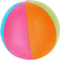 STOFFBALL - Multicolor, Basics, Kunststoff/Textil (15,5cm) - My Baby Lou