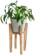 PLANTERINGSKRUKA - naturfärgad, Natur, trä/plast (31/57cm) - Ambia Home
