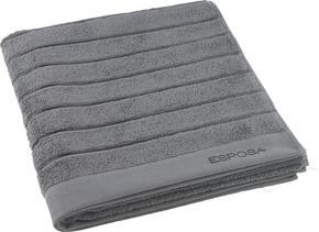 DUSCHHANDDUK - antracit, Basics, textil (70/140cm) - Esposa