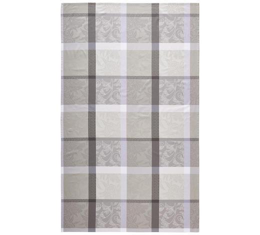 UBRUS, 150/250 cm, šedá - šedá, Konvenční, textil (150/250cm) - Esposa