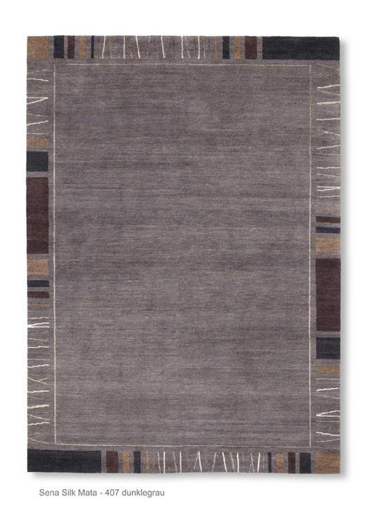 ORIENTTEPPICH  90/160 cm  Dunkelgrau - Dunkelgrau, Basics, Textil (90/160cm) - Esposa