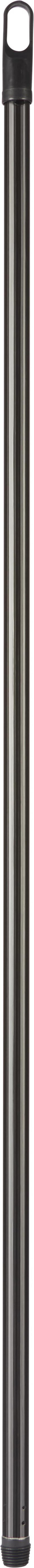 BESENSTIEL - Schwarz, Basics, Metall (120cm)