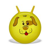 HÜPFBALL - Gelb, Basics, Kunststoff (45cm) - My Baby Lou