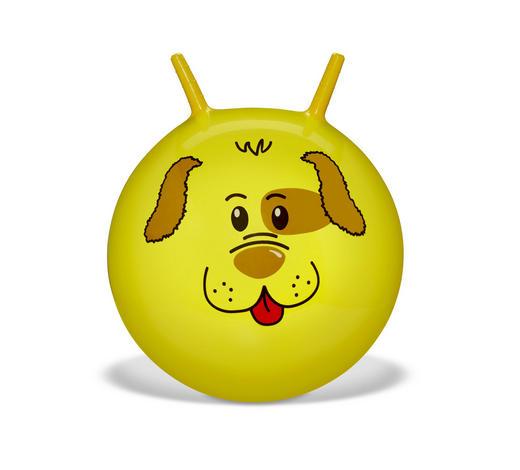 SKÁKACÍ MÍČ - žlutá, Basics, umělá hmota (45cm) - My Baby Lou
