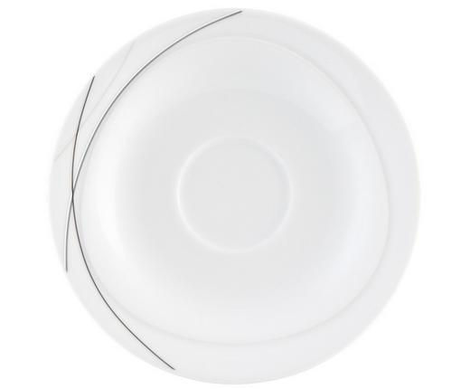 UNTERTASSE - Weiß, KONVENTIONELL, Keramik (16//cm) - Seltmann Weiden