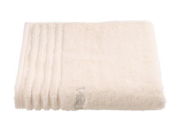 HANDTUCH 50/100 cm - Creme, Basics, Textil (50/100cm) - VOSSEN