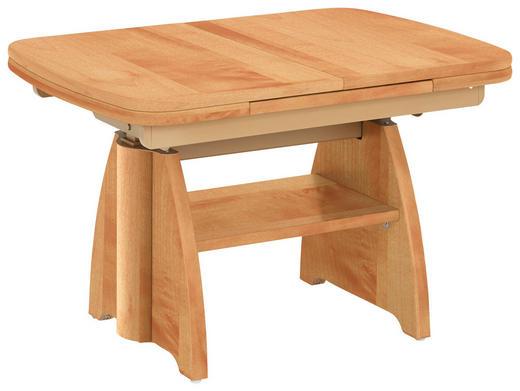 COUCHTISCH in Birnbaumfarben - Birnbaumfarben, KONVENTIONELL, Holzwerkstoff/Metall (90(130,5)/65/56-75cm) - Venda