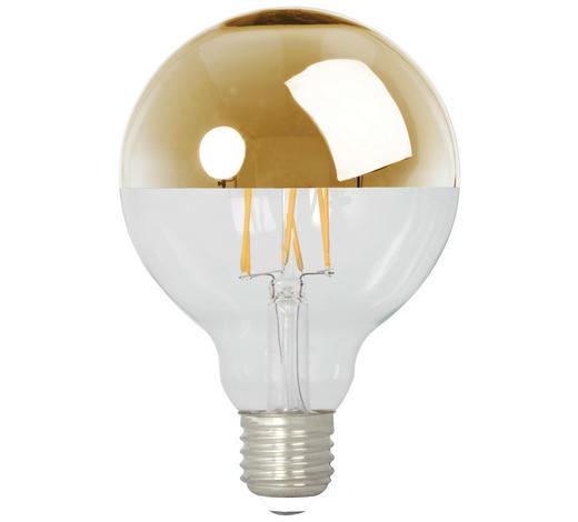 LED-Leuchtmittel - Goldfarben, Basics, Glas (9,6/15/9,6cm) - Calex