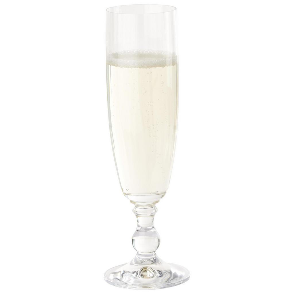 Gläserset Georgia , Klar , Glas , 230 ml , Lfgb, Made in Europe , Essen & Trinken, Gläser, Gläsersets