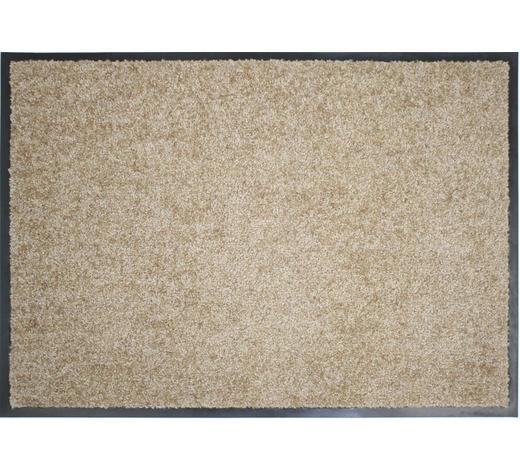 FUßMATTE 60/90 cm  - Sandfarben, KONVENTIONELL, Textil (60/90cm) - Esposa