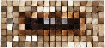 OLEJOMALBA - barvy stříbra/černá, Design, kompozitní dřevo/umělá hmota (55/120cm)