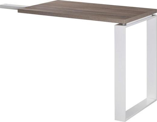 ANBAUSCHREIBTISCH Sonoma Eiche - Sonoma Eiche, Design, Metall (90/74,5/60cm) - Carryhome