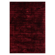 WEBTEPPICH - Rot, Design, Textil (80/150cm) - Novel