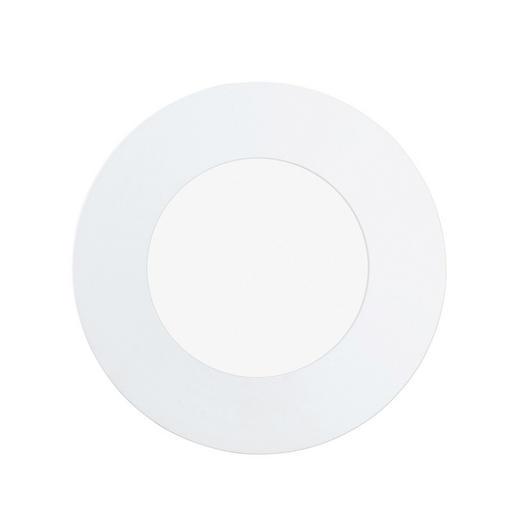 EINBAULEUCHTE Fueva - Weiß, Design, Metall (8,5/3cm)