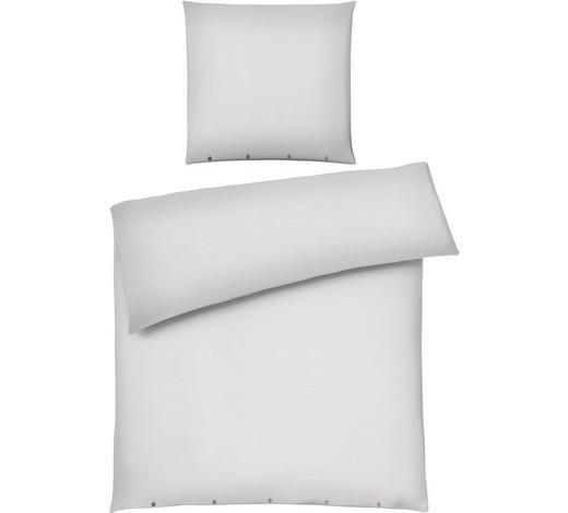 BETTWÄSCHE Weiß 155/220 cm  - Weiß, Design, Textil (155/220cm) - Ambiente