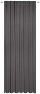 FERTIGVORHANG black-out (lichtundurchlässig) - Grau, Basics, Textil (140/300cm) - Esposa