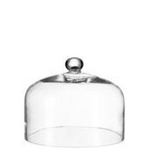 SPEISEHAUBE - Klar, Basics, Glas (29/22cm) - Leonardo